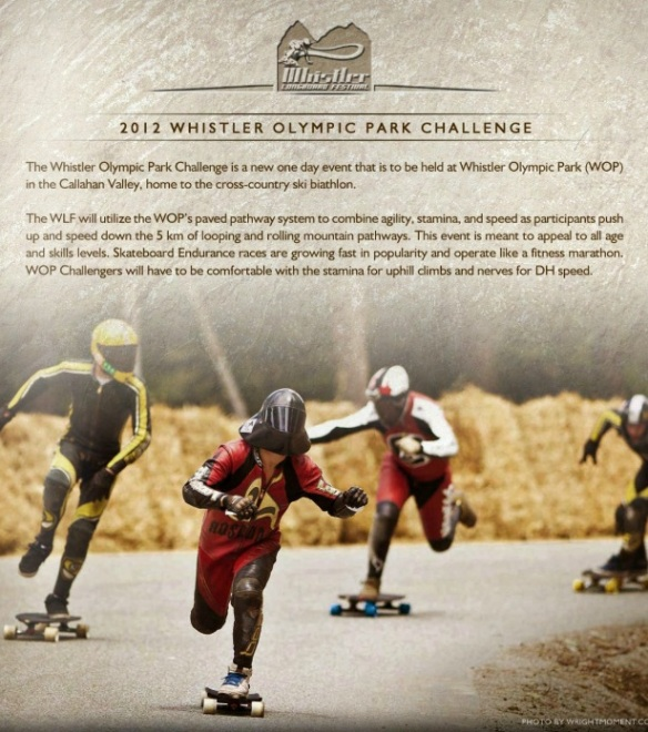 whistler longboard race 2012